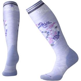 Smartwool W's PhD Ski Light Elite Pattern Socks Purple Mist